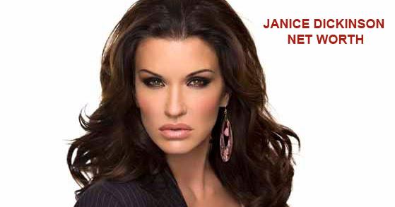 Janice Dickinson Net Worth