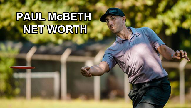 Paul McBeth Net Worth
