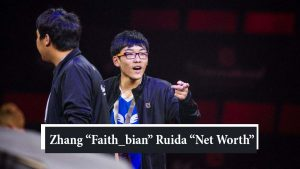 "Zhang ""Faith_bian"" Ruida Net Worth"