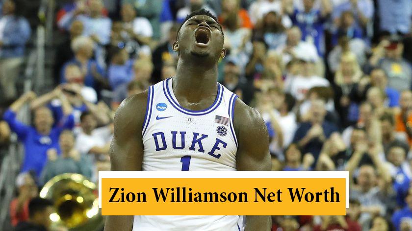 Zion Williamson Net Worth