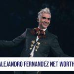 Alejandro Fernandez Net Worth