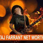 Taj Farrant Net Worth